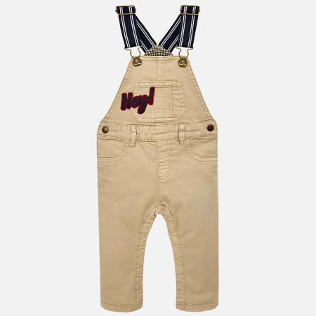MAYORAL - Dětské chlapecké kalhoty s laclem  e4817e6a33